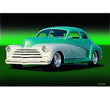 1948 Chevrolet Custom Coupe II Photographic Print