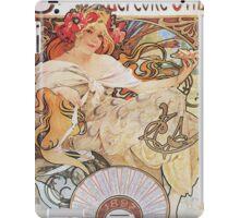 Alphonse Mucha - Biscuits Lefevre Utile iPad Case/Skin