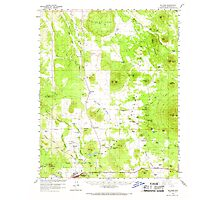 USGS TOPO Map Arizona AZ Williams 315187 1960 62500 Photographic Print