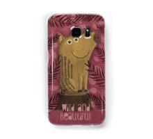 Wild and beautiful Samsung Galaxy Case/Skin