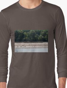 river landscape Long Sleeve T-Shirt
