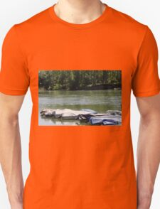 boat on river T-Shirt
