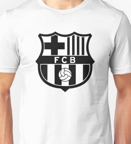 FC BARCELONA BW Unisex T-Shirt