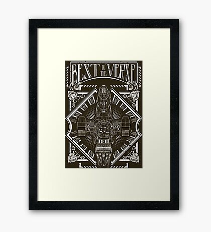 Best in the 'Verse Framed Print