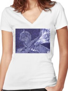 Saphira Women's Fitted V-Neck T-Shirt