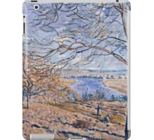 Alfred Sisley - Banks of the Loing - Autumn Effect, 1881 iPad Case/Skin