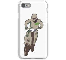 Motocross jump iPhone Case/Skin