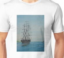 Tall Ship at rest Unisex T-Shirt
