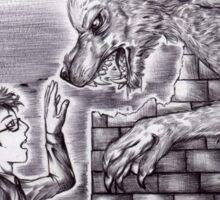 Doctor Who - Werewolf Sticker