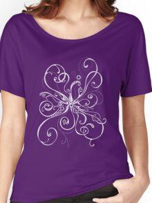 Purple Burst Women's Relaxed Fit T-Shirt