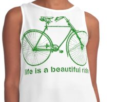 Life is a ride Contrast Tank