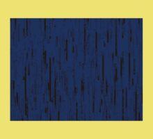 Line Art - The Bricks, black and dark blue One Piece - Short Sleeve