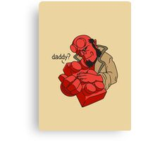 RED DADDY Canvas Print