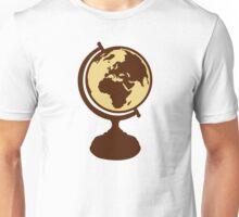 Globe world map Unisex T-Shirt