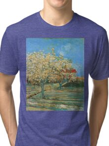 Vincent Van Gogh - Orchard In Blossom, 1888 02 Tri-blend T-Shirt