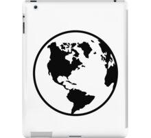 World map globe iPad Case/Skin