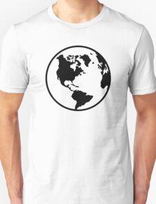 World map globe T-Shirt