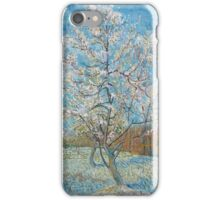 Vincent Van Gogh - Peach Trees In Blossom, 1888 iPhone Case/Skin