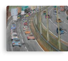 Motorway Driving Canvas Print