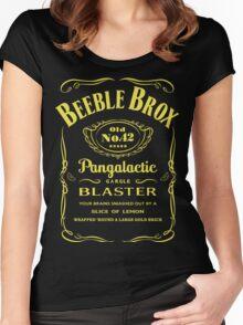 Pan Galactic Gargle Blaster Women's Fitted Scoop T-Shirt
