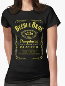 Pan Galactic Gargle Blaster Womens Fitted T-Shirt