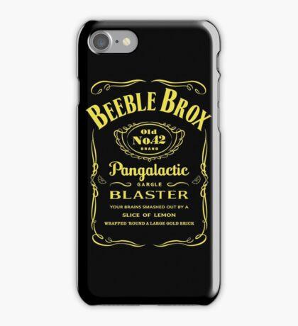 Pan Galactic Gargle Blaster iPhone Case/Skin