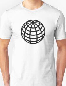 Globe symbol Unisex T-Shirt