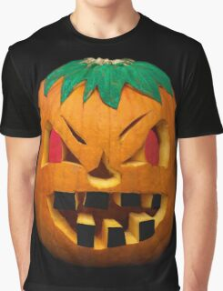 My Painted Carved Pumpkin, Halloween 2014  Graphic T-Shirt