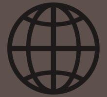 Globe icon One Piece - Short Sleeve
