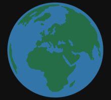 Globe Earth World Kids Tee