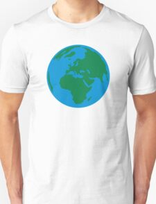 Globe Earth World Unisex T-Shirt
