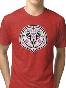 day of owl Tri-blend T-Shirt