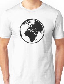 World map africa europe Unisex T-Shirt