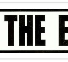Ski the East Sticker