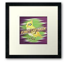Funky Ganymede Framed Print