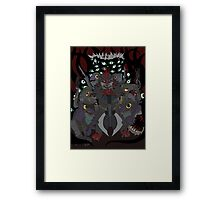 Fish Beast  Framed Print