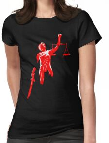 Daredevil - Athene Justice Womens Fitted T-Shirt