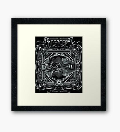 Intercept Framed Print