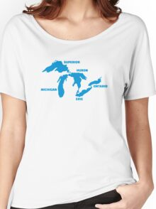 Great Lakes Women's Relaxed Fit T-Shirt