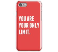 you are Limit iPhone Case/Skin