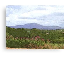Tinto from Dykehead Canvas Print