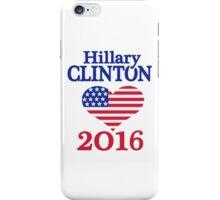 Hillary Clinton 2016 USA iPhone Case/Skin