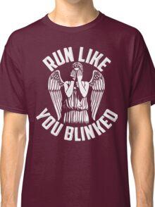 run like you blinked  Classic T-Shirt