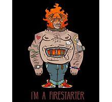 FIRESTARTER Photographic Print