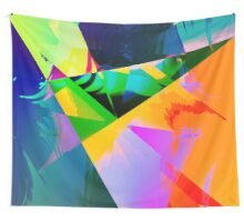 Patchwork doux Wall Tapestry
