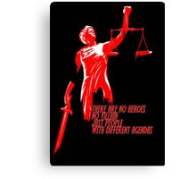 Daredevil - No heroes No villain Canvas Print