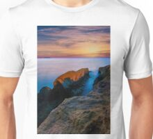 Knife edge rock at dawn Unisex T-Shirt