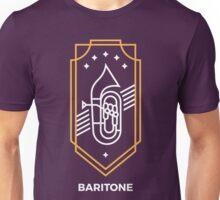 Baritone - White & Gold Unisex T-Shirt