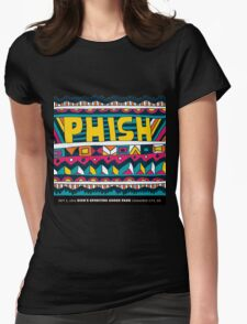 phish tour 2016 -dick's sporting goods park-commerce city,CO Womens Fitted T-Shirt