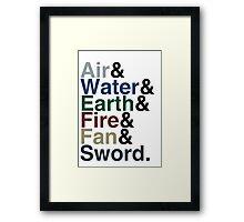Avatar - Sokka's Speech Framed Print